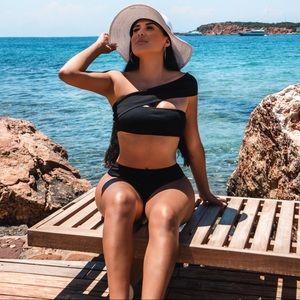 Black Two Piece Bikini